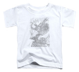 Toddler: Batman - Pencil Batarang Throw T-shirts