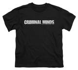 Youth: Criminal Minds - Criminal Minds Logo Shirts