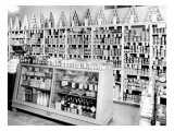 Berg & Sons Food Store Interior, 1935 Giclee Print by Chapin Bowen