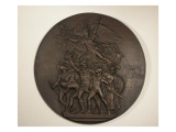 Medallion Made of Bronze Commemorating the French National Anthem, La Marseillaise By Lisle Giclee Print by James Wehn