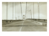 Galloping Gertie: The Tacoma Narrows Bridge, 1940 Premium Giclee Print