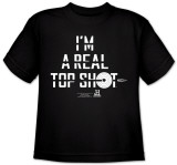 Youth:   I&#39;m a Top Shot T-shirts