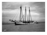 Schooner Great Bear, 1916 Giclee Print by Asahel Curtis