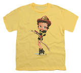 Youth: Betty Boop - Firefigher Boop T-shirts