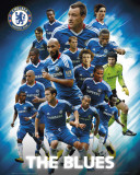 "Chelsea - Players ""The Blues"" 2010/11 Posters"