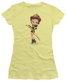Juniors: Betty Boop - Firefigher Boop T-shirts