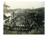 Waitsburg's 5th Annual Horse Show, 1909 Giclee Print