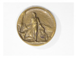Medal Made of Bronze Commemorates the Washington Territorial Centennial (1853-1953) Giclee Print by James Wehn