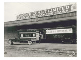North Coast Limited Railway Depot Giclee Print by Marvin Boland