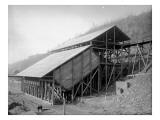 Mineworks, Washington State, Circa 1900 Giclee Print by Asahel Curtis