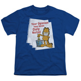 Youth: Garfield - Duly Noted Shirt