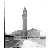 King Street Depot, Seattle, WA, Oct. 22, 1906 Giclee Print by Asahel Curtis