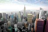 New York - barevné panoráma města Plakát