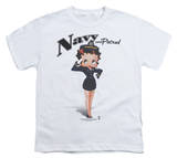 Youth: Betty Boop - Navy Boop T-shirts