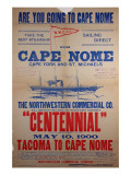 """Are You Going to Cape Nome"", 1900 Giclee Print"