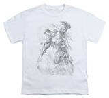 Youth: Superman - Pencil City to Space T-shirts