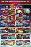 Cars 2 - Profiles Poster