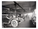 Second Hand Car Shop, 1921 Giclee Print by Asahel Curtis