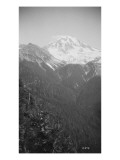 View of Glacier Peak, Circa 1909 Giclee Print by Asahel Curtis