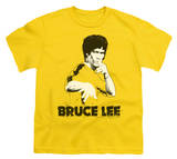 Youth: Bruce Lee - Yellow Splatter Suit T-Shirt