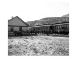 Okanogan Series, Brewster Depot, May 11, 1914 Giclee Print by Asahel Curtis