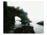 Natural Arch Formation, Cape Flattery, 1914 Giclee Print by Asahel Curtis