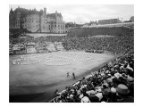 "Tacoma Stadium, ""The Awakening of Spring,"" 1915 Giclee Print by Asahel Curtis"