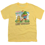 Youth: Garfield - Camp Garfield T-Shirt