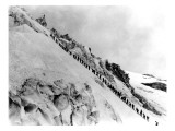 Mount Baker Ascent, 1908 Giclee Print by Asahel Curtis