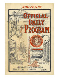A.Y.P.E. Official Daily Program, 1909 Giclee Print