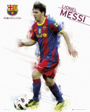 Barcelona - Messi 2011 Prints