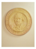 Commemorative Medallion Made of Plaster and Depicts the State of Washington Seal Giclee Print by James Wehn