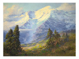 Mount Rainier Giclee Print by Lionel E. Salmon