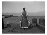 Apex Fish Co. Cannery Worker, 1913 Giclee Print by Asahel Curtis