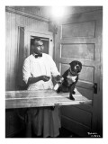 Veterinary Care of Dog, 1921 Giclee Print by Marvin Boland