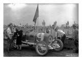 No.9 Racecar, Tacoma Speedway, Circa 1919 Premium Giclee Print by Marvin Boland