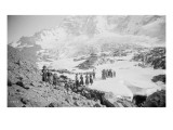 Party of Women Mountaineers in the North Cascades, Circa 1909 Giclee Print by Asahel Curtis