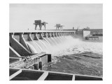 Mcnary Dam on the Columbia River, 1953-1955 Giclee Print