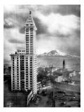 Seattle, WA Giclée-Druck von Asahel Curtis