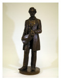 Statue of Abraham Lincoln By James A. Wehn, After a Statue By Leonard W. Volk, 1891 Giclee Print by James Wehn