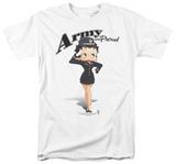 Betty Boop - Army Boop T-Shirt