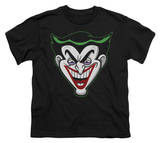 Youth: Batman - Animated Joker Head T-shirts