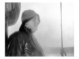 Fisherman in Foul Weather Gear, Alaska Coast, Undated Giclee Print by Asahel Curtis
