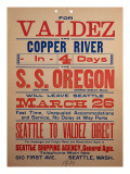 """For Valdex and Copper River"", 1901 Giclee Print"