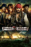 Pirates of the Caribbean - On Stranger Tides - Cast Plakat