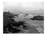 Coast South of Cape Flattery, 1910 Giclee Print by Asahel Curtis