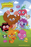 Moshi Monsters - Group Prints