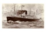 S.S. Minnesota Giclee Print