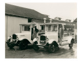 Gmc Trucks - Sanitary Infant Dairy , 1929 Premium Giclee Print by Marvin Boland