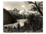 Turquoise Lake, Mt, 1922 Giclee Print by Asahel Curtis